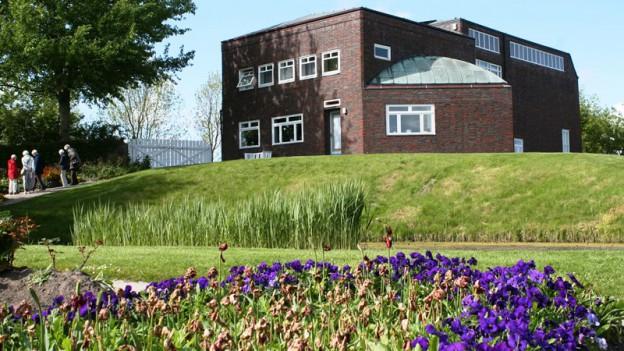 Gruppe im Garten Emil Nolde Museun Seebüll