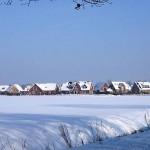 Krumbecktal im Winteri, Ortsmitte Ellerau