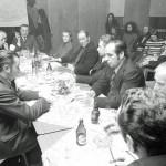 Hinten an der Stinseite Emil Schmelow, links im Vordergrund Walter Bollmann